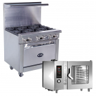 Charbroilers, Ovens, Fryers & Griddles