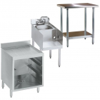 Prep Tables, Work Tables, Sinks & Sink Accessories