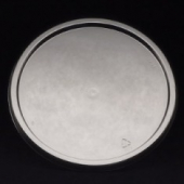 "Deli Container Lid, 7"" Round Flat Lid"