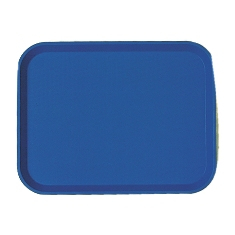 Cambro - Fast Food Tray, 12x16 Navy Plastic