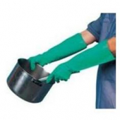 "Gloves, Janitor/Dishwashing, 18"" Green"