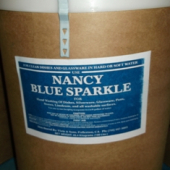 "Nancy Brand - Dish Soap, ""Blue Sparkle"" Powder, 100 Lb"