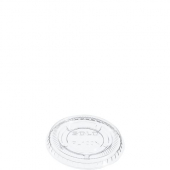 Dart - Lid, 1 oz Clear Plastic Conex Portion Cup Lid