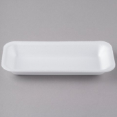 Genpak - Meat Tray, White, #1.5, 8.375x3.875x.875