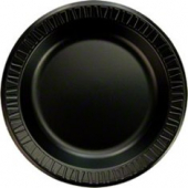 "Dart - Plate, 10.25"" Black Quiet Classic Laminated Foam"