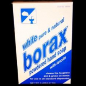 Powdered Handsoap, White Borax