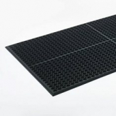 Floor Mat, 29x39 Black, Heavy Duty Anti-Fatigue