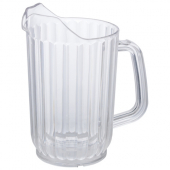 Winco - Water Pitcher, 32 oz Clear PC Plastic