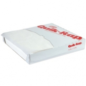 Quik-Rap Highly Grease Resistant White Sandwich Paper, 12.625x12.625
