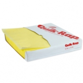 Quik-Rap Highly Grease Resistant Yellow Sandwich Paper, 12.625x12.625