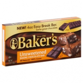 Baker's - Unsweetened Chocolate