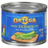 Ortega - Chilis, Diced Green Fire Roasted