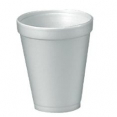 "Dart - Foam Cup, White, 12 oz, 4.4"" Height"