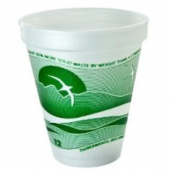Dart - Foam Cup, Horizon Stock Print, 12 oz