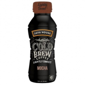 Java House - Authentic Cold Brew Mocha Sweet Flavor Black Coffee, 12/10 oz