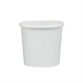 Solo - Food Container, 12 oz White Double Sided Poly Paper