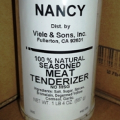 Nancy Brand - Meat Tenderizer, Seasoned