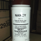 Nancy Brand - Meat Tenderizer, Unseasoned