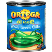 Ortega - Chilis, Whole Green