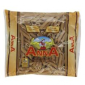 Anna - Whole Grain Penne Rigate Noodles (Pasta)