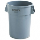 Rubbermaid - Garbage/Trash Can, Grey 55 Gallon