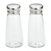 Tablecraft - Salt and Pepper Shakers with Mushroom Top, 3 oz