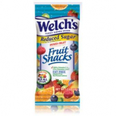 Welch's - Mixed Fruit Reduce Sugar Fruit Snacks