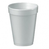 "Dart - Foam Cup, White, 14 oz, 4.8"" Height"