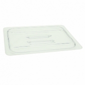 Winco - Food Pan Solid Cover, Full Size Clear PC Plastic
