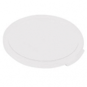 Cambro - Camwear Rounds Food Storage Container Lid, Clear PC Plastic, Fits 12/18/22 qt Containers
