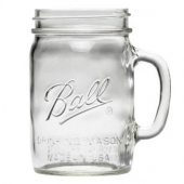 Ball - Mason Jar with Handle, 24 oz
