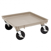 Vollrath - Traex Dolly Base with no Handle, 21x21 Beige