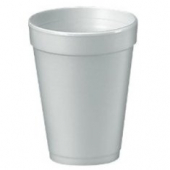 "Dart - Foam Cup, White, 16 oz, 5.4"" Height"