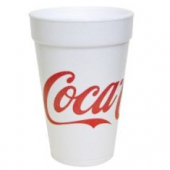Dart - Foam Cup, Coca Cola Stock Print, 16 oz
