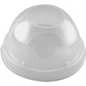 "Dart - Lid, Dome Lid with 1.5"" Hole, Clear Plastic, Fits 9-12 oz Cups"