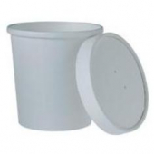 Solo - Food Container/Lid Combo, 16 oz, White Paper