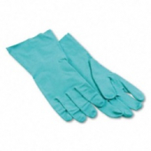 "Gloves, Green Nitrile, 13"" Large"