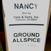 Nancy Brand - Allspice, Ground, 1 Lb