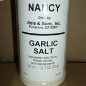 Nancy Brand - Garlic Salt, 19 oz
