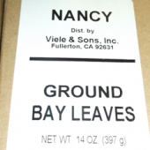 Nancy Brand - Bay Leaves, Ground, 14 oz