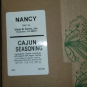 Nancy Brand - Cajun Seasoning, 20 oz