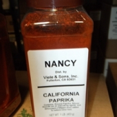 Nancy Brand - Paprika, Ground, 1 LB