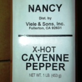 Nancy Brand - Cayenne Pepper, Ground, 1 Lb