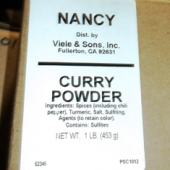 Nancy Brand - Curry Powder, Ground, 1 Lb
