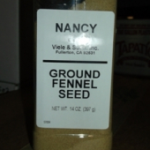 Nancy Brand - Fennel Seed, Ground, 14 oz