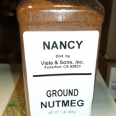 Nancy Brand - Nutmeg, Ground, 1 Lb