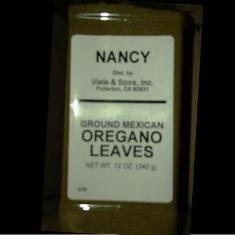 Nancy Brand - Oregano Leaves, Ground Mexican, 1 Lb | 1GOREG | Viele