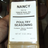 Nancy Brand - Poultry Seasoning, Ground, 1 Lb