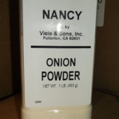 Nancy Brand - Onion Powder, 1 Lb