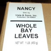 Nancy Brand - Bay Leaves, Ground, 1 Lb